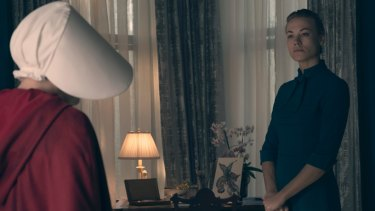Handmaid's Tale's Yvonne Strahovski was one of two Aussies who scored a nomination.