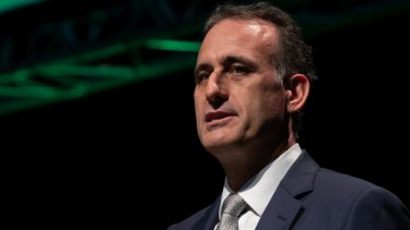 Wesfarmers CEO Rob Scott is said to be keen on agribusiness.