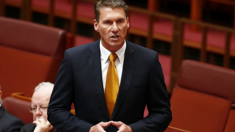 Senator Cory Bernardi revealed his donations earlier than required to make a point about transparency.
