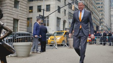 De Blasio has been advised by New York residents not to run for president.