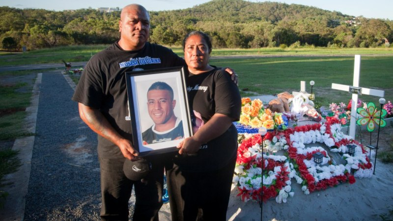 Peni and Lisa Fotuaika were left searching for answers when their son, NRL player Mosese, took his own life in 2013.