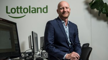 """Lottoland CEO Luke Brill says the company is """"fighting for freedom of choice""""."""