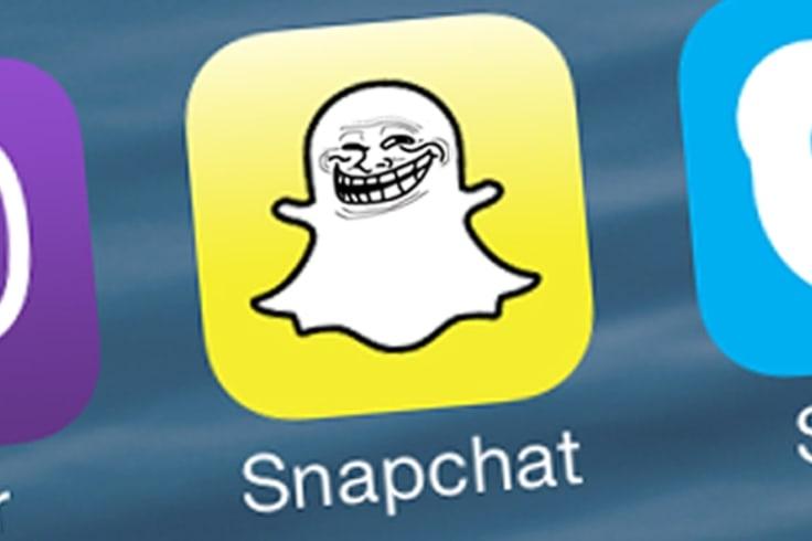 Photo sharing app snapchat is no more.
