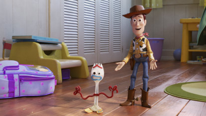 Woody's very human dilemma lends Toy Story 4 an air of melancholy