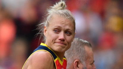 Why do men care so much when women get injured playing AFL?