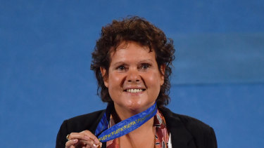 Evonne Goolagong-Cawley was awarded an AC in 2018.