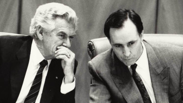 Bob Hawke and Paul Keating: the men who gave us an economics obsession.