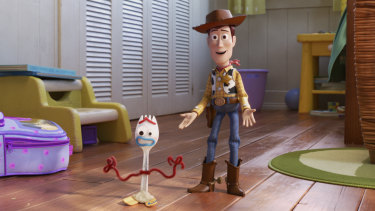 A scene from the upcoming Toy Story 4.