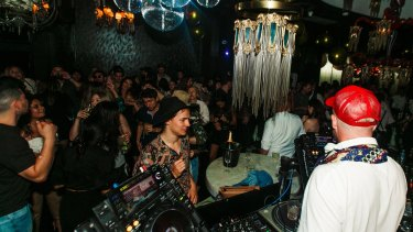 Laruche nightclub in Fortitude Valley, Brisbane, will allow 100 people through the door at the weekend.