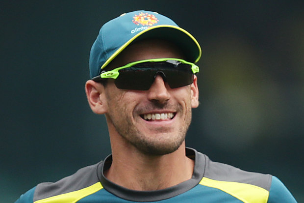 A fit and firing Mitchell Starc is a major boost for the Australian attack.