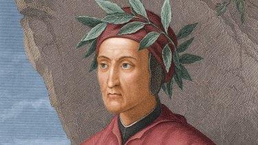 Accused but never pardoned: Italian poet, politician, and author Dante Alighieri.