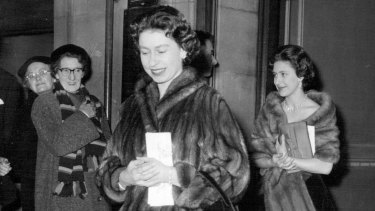 """""""Indeed an unusual show"""", commented the Queen when she saw the show in London with Princess Margaret in 1959."""
