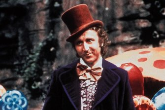 Gene Wilder as Willy Wonka, the chocolate king who gaslit his way into our hearts.