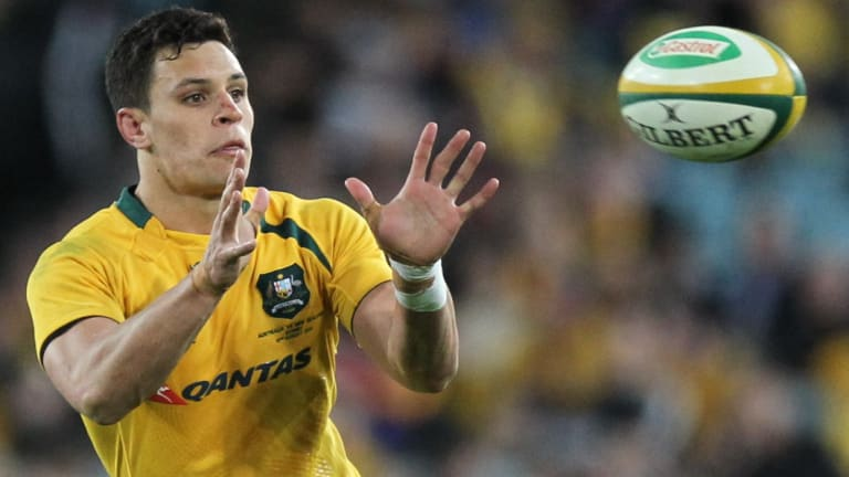 Welcome return: Matt Toomua is back in the green and gold fold.