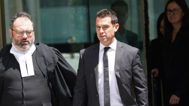 Michaelia Cash's former media adviser David de Garis told the Federal Court he was assisted by Michael Tetlow, now with the ABC, in leaking details of a union raid.