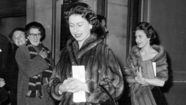 """Indeed an unusual show"", commented the Queen when she saw the show in London with Princess Margaret in 1959."