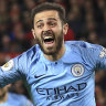 League Cup final in sight for Manchester City after 3-1 win at United