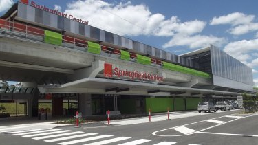 The park and ride station at the Springfield Central station will more than double to 1142 spaces.