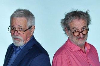 AM radio Talk back hosts - Neil Mitchell and John Faine.
