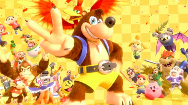 Banjo Kazooie is coming to Smash Bros. Ultimate as a new fighter.
