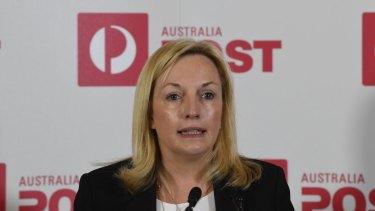 Australia Post CEO Christine Holgate.