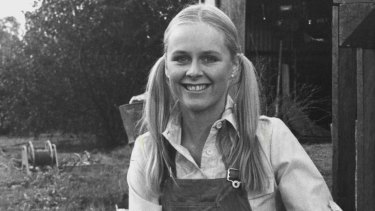 Penny Cook as Vicky Dean on A Country Practice in 1984.
