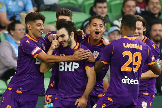 Nick D'Agostino put the result beyond doubt for Perth Glory.