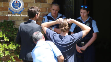 Two men were arrested at a Mount Elliot granny flat on Wednesday and charged with drug supply.