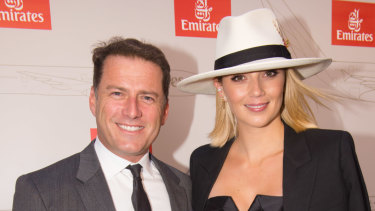 Karl Stefanovic and Jasmine Yarlbrough are regulars on Sydney's busy social circuit.