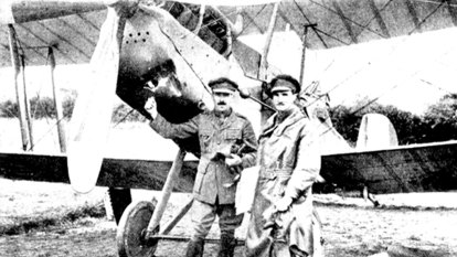 Lost medals of fearless WWI flying ace find home at war memorial