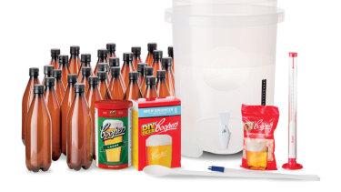 Coopers' beer brewing kit