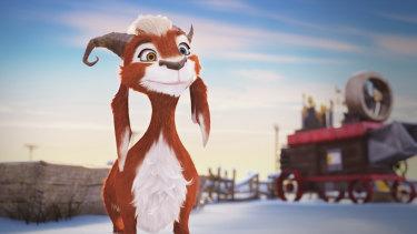 Hazel the goat.