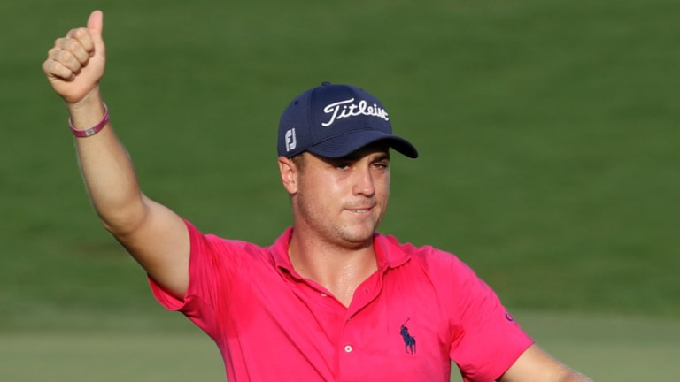 Chasing history: Justin Thomas wants to finish the golf year in record-setting fashion.