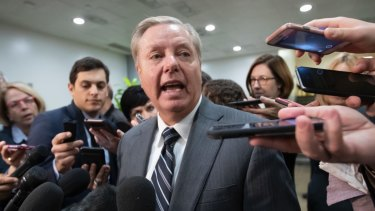 Republican Senator Lindsey Graham, usually a strident defender of the President, attacked his decision to withdraw troops from Syria.