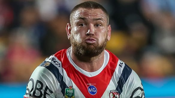 Why Roosters enforcer Waerea-Hargreaves won't be calling out Burgesses