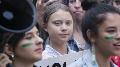 Climate movement 'too loud to handle' for critics, Thunberg says