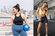 Fitspo/healthspo homepage images: Lauren Leavell, Kayla Itsines