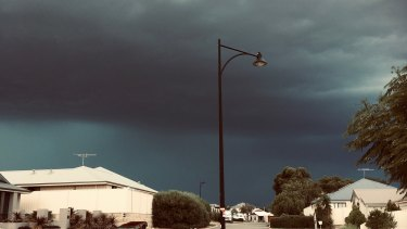Donna took this ominous shot in Carramar.