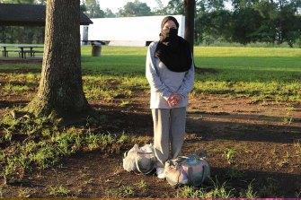 A scene from Jihad Jane.