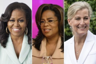Michelle Obama, Oprah Winfrey and Sophie, Countess of Wessex, have all spoken about their experiences with menopause.