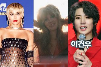 The Wolf Pack: Miley Cyrus; Stevie Nicks; Geonu of Just B.