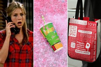"Cheugy: Rewatching ""Friends""; Boost Juice; Lululemon bags."