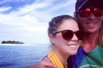 Jake Shephard and Tamara Ilic, from Tweed Heads, have been hitchhikingback from Mexico on yachts since late last year.