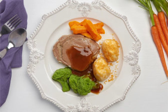 A photo of an I Cook Foods meal from the company's website.