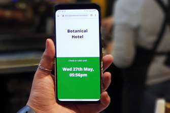GuestCheck is being used in over 500 venues around Australia