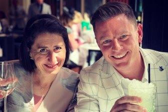 Ben Fordham with NSW Premier Gladys Berejiklian.