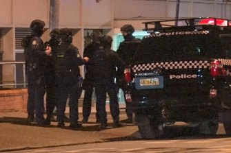 There was a heavy police presence on High Street in Penrith well into Thursday morning.