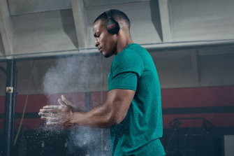 Under Armour's new headphones will stay on your head in a workout but are not so comfortable.