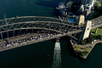 The Sydney Harbour Bridge was closed on Thursday morning after a fatal crash.