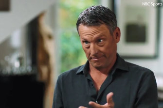 "Lance Armstrong said his stepfather was ""kind of terrible"" and would punish him for leaving his drawer open."